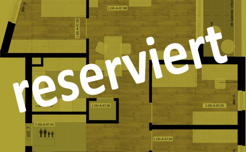 Kurzbeschreibung Ausstattung Haus A – Wohnung 07 / 1. OG – 4-Raum – 86,76m²