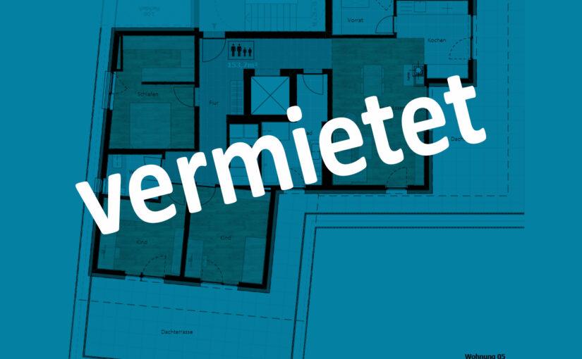 Kurzbeschreibung – Wohnung 05 (Penthouse) | Mietobjekt
